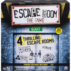 Spin Master - 6034281 - Spin Master Escape Room - 3 to 5 Players