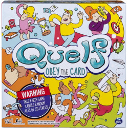 Spin Master - 6038147 - Spin Master Quelf Board Game - Creative - 3 to 6 Players