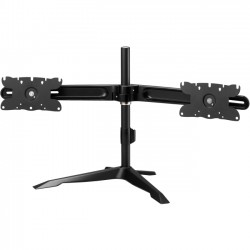Amer Networks - AMR2S32U - Amer Dual Monitor Stand for Up to 32 Displays - Up to 32 Screen Support - 17.60 lb Load Capacity - 12.9 Height x 42 Width x 19.8 Depth - Aluminum Alloy, Plastic, Steel