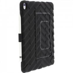 Gumdrop Cases - GS-IPADPRO105-BLKBLK - Gumdrop Hideaway iPad Pro 10.5 Case - iPad Pro, ID Card, Stylus - Black - Rubber, Silicone, Acrylonitrile Butadiene Styrene (ABS)