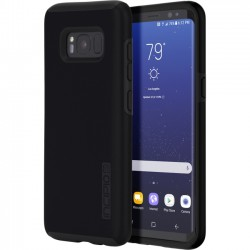 Griffin Technology - SA-823-BLK - Incipio DualPro The Original Dual Layer Protective Case for Samsung Galaxy S8 - Smartphone - Black - Polycarbonate - 12 ft Drop Height