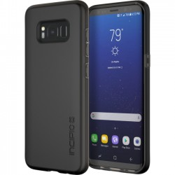 Griffin Technology - SA-837-BLK - Incipio NGP Slim Polymer Case for Samsung Galaxy S8 - Smartphone - Black - Textured - 36 Drop Height