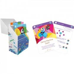 Wonder Workshop - 1-CR03-11 - Wonder Workshop Challenge Cards: Learn to Code Challenge Card Box Set - Educational