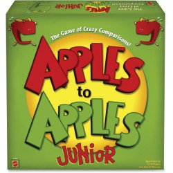 Mattel - N1387 - Apples to Apples Mattel Junior Party Game - Party - 4 to 10 Players