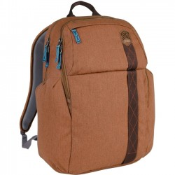STM Bags - stm-111-149P-10 - STM Goods Kings Carrying Case (Backpack) for 15, Notebook - Desert Brown - Impact Resistant - Polyester - Shoulder Strap - 18.7 Height x 11.8 Width x 6.7 Depth