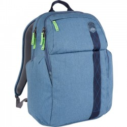 STM Bags - stm-111-149P-16 - STM Goods Kings Carrying Case (Backpack) for 15, Notebook - China Blue - Impact Resistant - Polyester - Shoulder Strap - 18.7 Height x 11.8 Width x 6.7 Depth