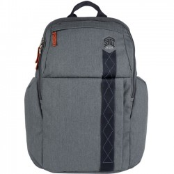 STM Bags - stm-111-149P-20 - STM Goods Kings Carrying Case (Backpack) for 15, Notebook - Tornado Gray - Impact Resistant - Polyester - Shoulder Strap - 18.7 Height x 11.8 Width x 6.7 Depth
