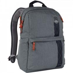 STM Bags - stm-111-148P-20 - STM Goods Banks Carrying Case (Backpack) for 15, Notebook - Tornado Gray - Polyester - Shoulder Strap - 17.9 Height x 12.4 Width x 6.5 Depth