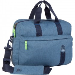 STM Bags - stm-112-147P-16 - STM Goods Judge Carrying Case (Briefcase) for 15, Notebook - China Blue - Impact Resistant - Polyester - Shoulder Strap - 15.9 Height x 12.2 Width x 3.9 Depth