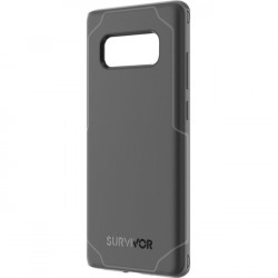 Griffin Technology - GB43818 - Griffin Survivor Strong for Samsung Galaxy Note 8 - Smartphone - Black, Dark Gray - Polycarbonate - 82.68 Drop Height