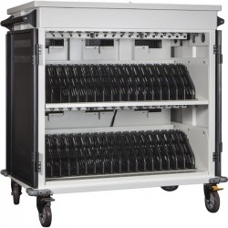 Anywhere Cart - ACMANAGE - Anywhere Cart 36 Bay Cart - 2 Shelf - 4 Casters - 5 Caster Size - Metal - 44 Width x 29 Depth x 43.6 Height - For 36 Devices