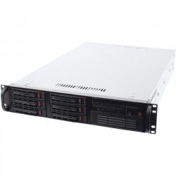 ipConfigure - SF2-T2-U24R5-1 - ipConfigure Tiger Network Surveillance Server - Network Surveillance Server - 24 TB Hard Drive - 16 GB