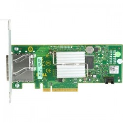 Dell - 7RJDT - Dell 6Gbps SAS HBA Card - Kit - PCI Express x8 - Plug-in Card - 2 Total SAS Port(s) - 2 SAS Port(s) Internal - 2 SAS Port(s) External