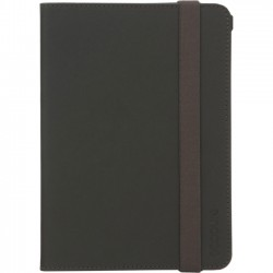 Incipio - CL60515 - Incase Carrying Case (Book Fold) for iPad mini - Black, Tan - Polyurethane, Polyester Interior - 8 Height x 5.5 Width x 0.8 Depth