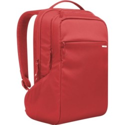 Incipio - CL55537 - Incase ICON Carrying Case (Backpack) for 15 Notebook, MacBook Pro (Retina Display) - Red - 840D Nylon, Faux Fur Interior - Shoulder Strap - 19 Height x 12 Width x 8 Depth