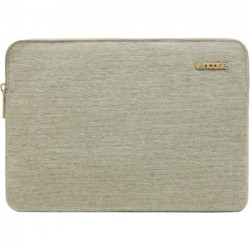 Incipio - CL60676 - Incase Slim Sleeve Carrying Case (Sleeve) for 12 MacBook - Heather Khaki - Bump Resistant Interior, Scratch Resistant Interior - 300D Polyester