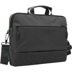 Incipio - CL55458 - Incase City Carrying Case (Briefcase) for 15 MacBook Pro, iPhone - Black - 270 x 500D Polyester, Fleece Interior - Shoulder Strap - 11.5 Height x 16 Width x 2 Depth