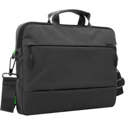 Incipio - CL55493 - Incase City Carrying Case (Briefcase) for 13 MacBook Pro - Black - 270 x 500D Polyester - Shoulder Strap