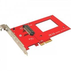Addonics Technologies - AD25NVMPX4 - Addonics NVMe 2.5 U.2 SSD PCIe Adapter