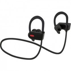GPX - IAEB26B - iLive IAEB26B Earset - Black - Wireless - Bluetooth - 33 ft - 16 Ohm - 20 Hz - 20 kHz - Earbud - In-ear