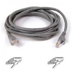 Belkin - A3L791-01 - Belkin Cat5e Patch Cable - RJ-45 Male Network - RJ-45 Male Network - 1ft - Gray