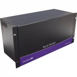 Smart AVI - RK-DVS4P-8S - SmartAVI RK-DVS4P-8S Signal Splitter - 1920 x 1200 - 25 ft Maximum Operating Distance - DVI In - DVI Out