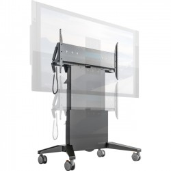 Salamander Designs - FPS1XL/EL/GG - Salamander Designs Heavy Duty XL Mobile Stand - Designed for 84 Microsoft Surface Hub or Displays up to 90 or 300 lbs (136 kg)