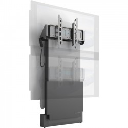 Salamander Designs - FPS1W/EL/GG - Salamander Designs Electric Lift Wall Stand - Designed for 55 Microsoft Surface Hub or Displays up to 65 or 175 lbs (79 kg)