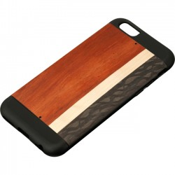 Man&Wood - M1562B - Man&Wood iPhone 6S Protection Case Highway - iPhone 6, iPhone 6S - Black - Highway - Smooth - Wood, Thermoplastic Polyurethane (TPU), Polycarbonate