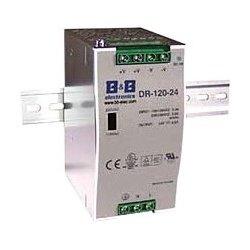 IMC Networks - DR-120-24 - B+B 120W DIN-Rail 24 VDC Power Supply - 120 V AC, 230 V AC, 370 V DC Input Voltage - 24 V DC Output Voltage - DIN Rail - 84% Efficiency - 120 W