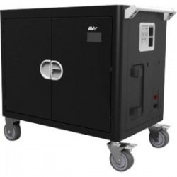 AVer Information - CHRGEC36I - AVer AVerCharge C36i 36 Device Intelligent Charging Cart - 4 Casters - 5 Caster Size - 38.5 Width x 23.6 Depth x 34.7 Height - Steel Frame - For 36 Devices