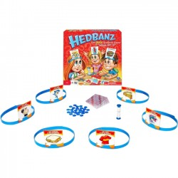 Spin Master - 6014346 - Spin Master Headbandz - Quick Question Game of What am I? - Ask yes or no Questions to Figure Out if the Cartoon On Your Head is an Animal, Food or Man-Made Object