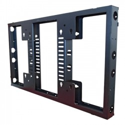 Premier Mounts - MVW554UNS-2 - Premier Mounts MVW554UNS-2 Mounting Frame for Flat Panel Display - 55 Screen Support - 100 lb Load Capacity - Black