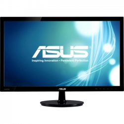 "Asus - VS238H-P - Asus VS238H-P 23"" LED LCD Monitor - 16:9 - 2 ms - Adjustable Display Angle - 1920 x 1080 - 16.7 Million Colors - 250 Nit - 50,000,000:1 - Full HD - HDMI - VGA - 27 W - Black - ENERGY STAR, WEEE, RoHS, EPEAT Silver"