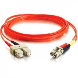 C2G (Cables To Go) - 11116 - C2G-3m LC-SC 62.5/125 OM1 Duplex Multimode Fiber Optic Cable (TAA Compliant) - Orange - Fiber Optic for Network Device - LC Male - SC Male - 62.5/125 - Duplex Multimode - OM1 - TAA Compliant - 3m - Orange