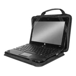 "InfoCase - CM-AO-10 - InfoCase Classmate Always-On CM-AO-10 Carrying Case for 10.3"" Netbook - Black - Nylon, Polyethylene Foam - Handle, Shoulder Strap"