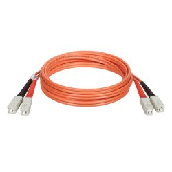 Tripp Lite - N306-92M - Tripp Lite Fiber Optic Duplex Cable - SC Male Network - SC Male Network - 301.84ft