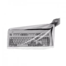 Viziflex Seels - UK01 - Viziflex Disposable Keyboard Skin - Polyurethane - Clear