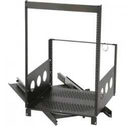 Chief - ROTR-13 - Raxxess ROTR-13 Pull-Out Rotating Rack Frame - 13U Wide - Black