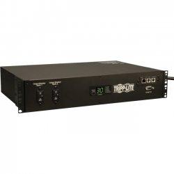 "Tripp Lite - PDUMH30HVATNET - Tripp Lite PDU Switched ATS 208V 30A 16 C13; 2 C19; 1 L6-30R Horizontal 2U TAA - 1 x NEMA L6-30R, 2 x IEC 60320 C19, 16 x IEC 60320 C13 - 208 V AC - 2U - Horizontal Rackmount"""