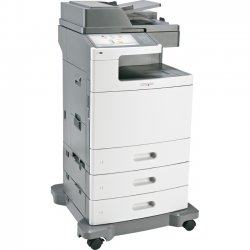 Lexmark - 47BT086 - Lexmark X792DTE Laser Multifunction Printer - Color - Plain Paper Print - Floor Standing - Copier/Fax/Printer/Scanner - 50 ppm Mono/50 ppm Color Print - 2400 x 600 dpi Print - Automatic Duplex Print - 50 cpm Mono/50 cpm Color Copy -