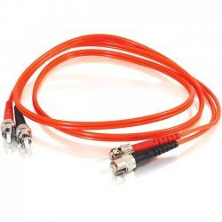 C2G (Cables To Go) - 11167 - C2G-5m ST-ST 62.5/125 OM1 Duplex Multimode Fiber Optic Cable (TAA Compliant) - Orange - Fiber Optic for Network Device - ST Male - ST Male - 62.5/125 - Duplex Multimode - OM1 - TAA Compliant - 5m - Orange