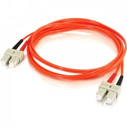 C2G (Cables To Go) - 11148 - C2G-10m SC-SC 62.5/125 OM1 Duplex Multimode Fiber Optic Cable (TAA Compliant) - Orange - Fiber Optic for Network Device - SC Male - SC Male - 62.5/125 - Duplex Multimode - OM1 - TAA Compliant - 10m - Orange