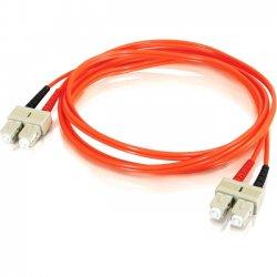 C2G (Cables To Go) - 11076 - 15m SC-SC 50/125 OM2 Duplex Multimode Fiber Optic Cable (TAA Compliant) - Orange - Fiber Optic for Network Device - SC Male - SC Male - 50/125 - Duplex Multimode - OM2 - TAA Compliant - 15m - Orange