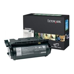 Lexmark - 12A9686 - Lexmark High Capacity Black Toner Cartridge - Laser - Black
