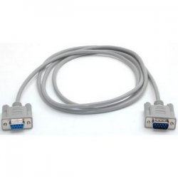 StarTech - MXT100 - StarTech.com 6ft Straight Through Serial Cable - DB9 M/F - DB-9 Male - DB-9 Female - 6ft