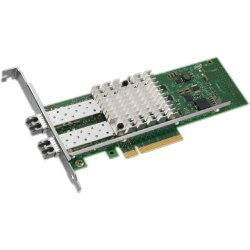 Intel - E10G42BTDAG1P5 - Intel X520-DA2 10Gigabit Ethernet Card - PCI Express - Low-profile, Full-height - OEM