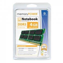 Centon Electronics - R1333SO4096 - Centon R1333SO4096 4GB DDR3 SDRAM Memory Module - 4 GB - DDR3 SDRAM - 1333 MHz DDR3-1333/PC3-10600 - Non-ECC - 204-pin - SoDIMM