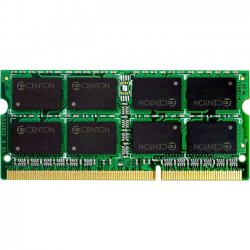 Centon Electronics - R1333SO4096K2 - Centon 8GB DDR3 SDRAM Memory Module - 8 GB (2 x 4 GB) - DDR3 SDRAM - 1333 MHz DDR3-1333/PC3-10600 - Non-ECC - Unbuffered - 204-pin - SoDIMM