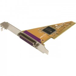StarTech - PCI1P2 - StarTech.com 1 Port PCI Parallel Adapter Card - 1 x 25-pin DB-25 Female IEEE 1284 Parallel PCI